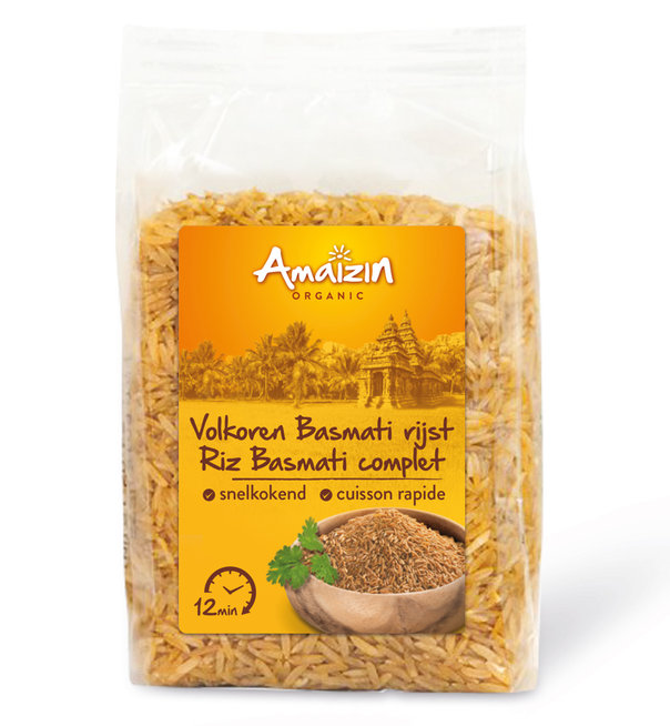 Amaizin Quick cook Basmati Brown org. 6x400g