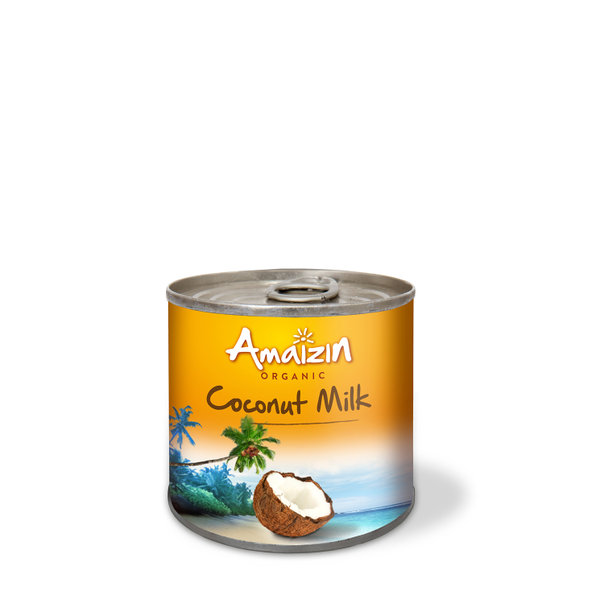 Amaizin Coconut milk 17% org. 12x200ml