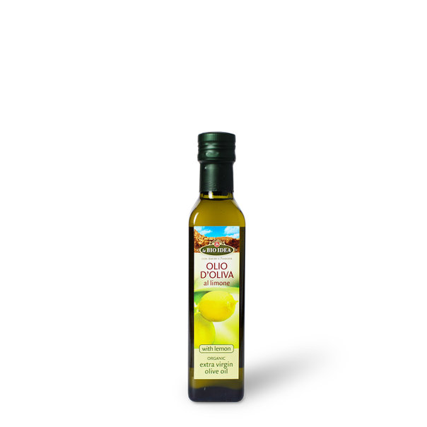 LBI Olive oil with lemon org. 6x250ml