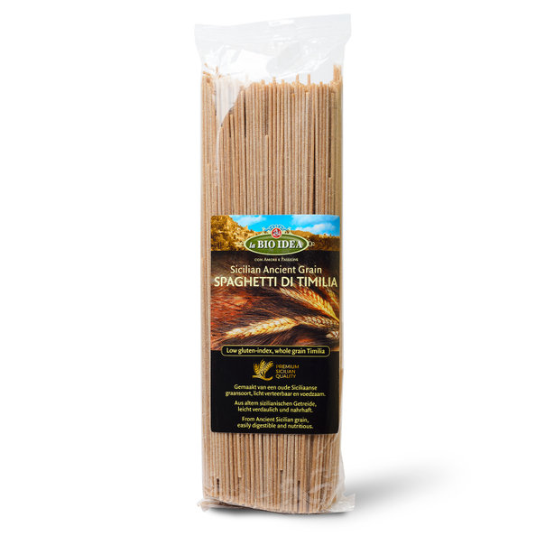 LBI Spaghetti Timilia whole wheat org. 12x500g