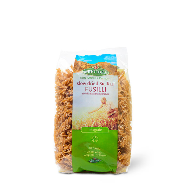 LBI Fusilli whole wheat org. 12x500g