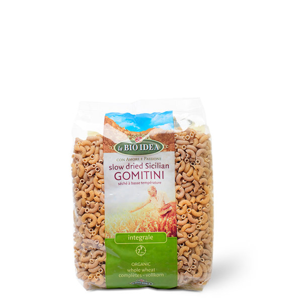 LBI Macaroni whole wheat org. 12x500gr